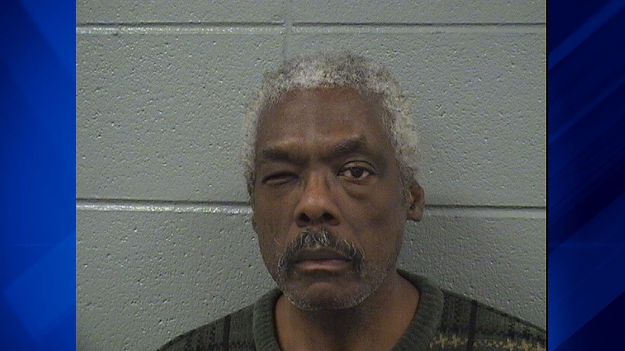 James Collins, 63, was charged in four separate incidents involving a knife, police said Monday.