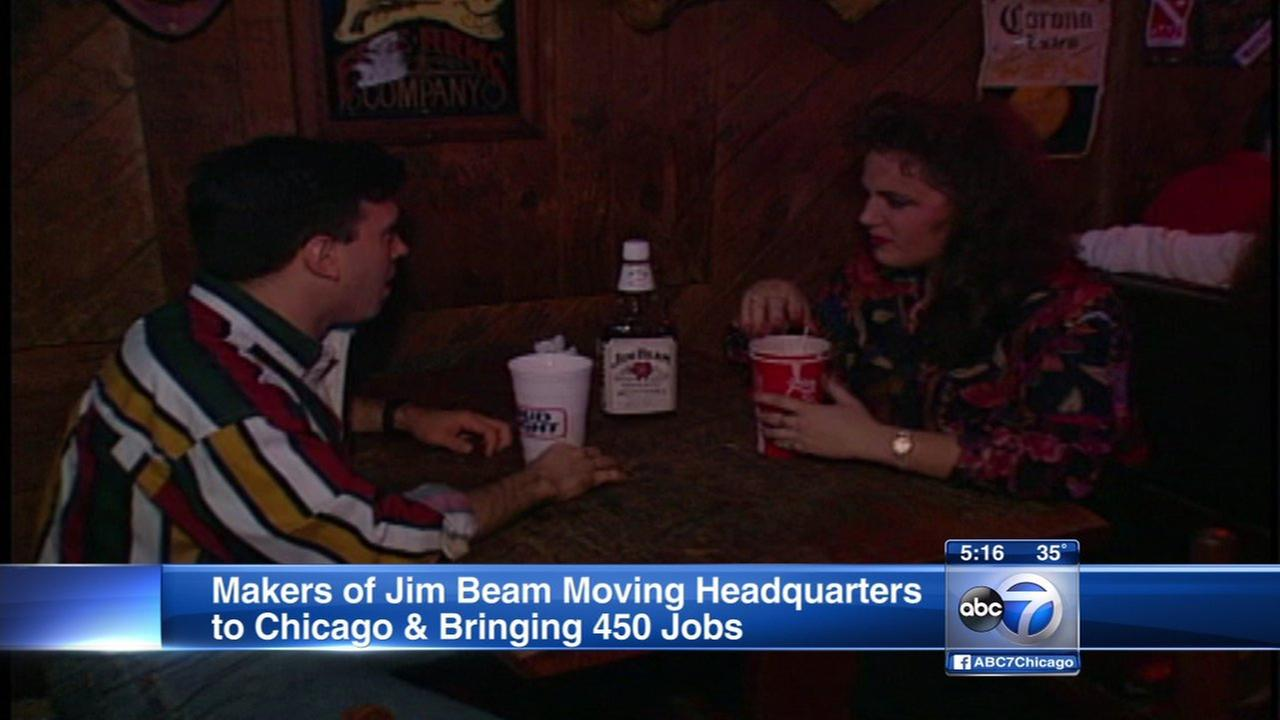 Jim Beam Suntory moving HQ to Chicago