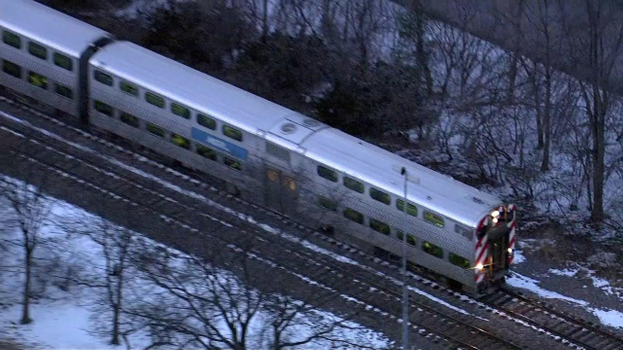 Metra UP-North service resumes with delays after person struck near Glencoe