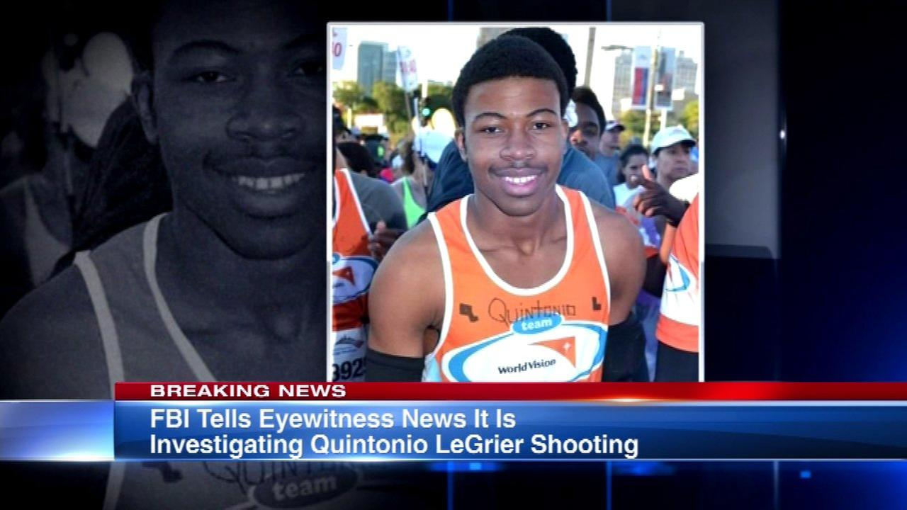 FBI investigating fatal police shootings of Quintonio LeGrier, Bettie Jones