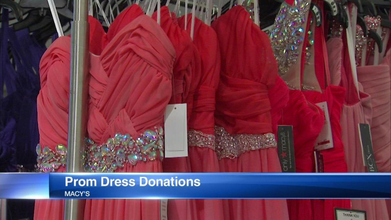 Macy's donates prom dress for every dress purchased