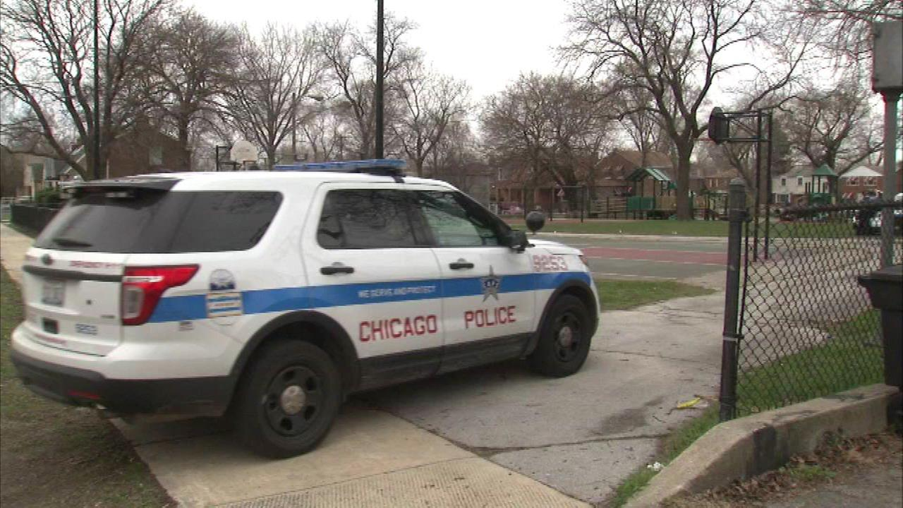 Two teenage boys were shot Sunday on Chicagos Far South Side.