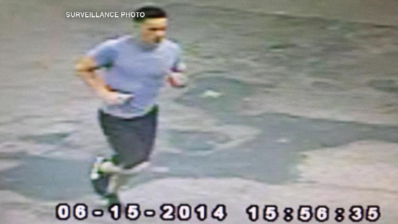 Authorities in Lake County, Ill. released surveillance photos of a person of interest in connection with an attack on a woman on a forest preserve bike path near Libertyville.