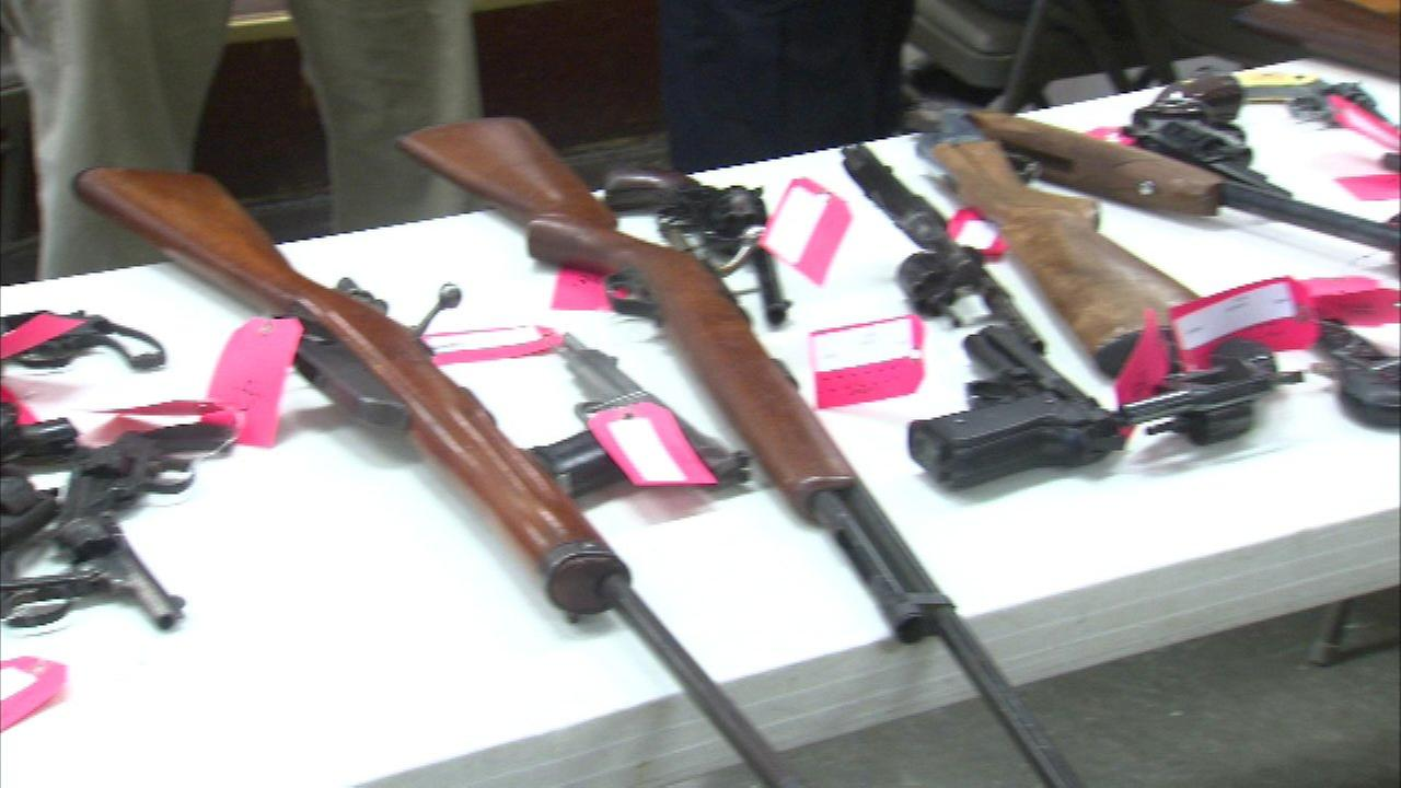 A gun buyback event was held at Hope Community Church on the citys West Side on Sat., April 2, 2016.