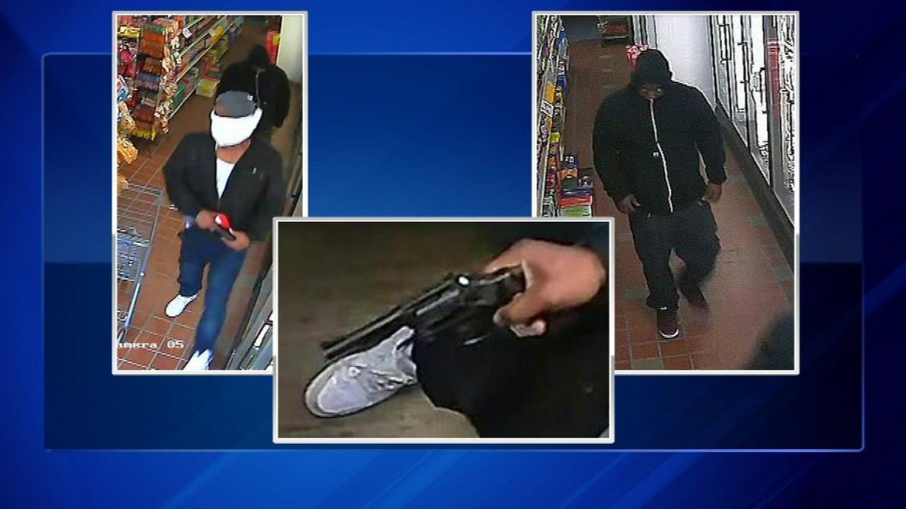 Waukegan police seek armed robbery suspects