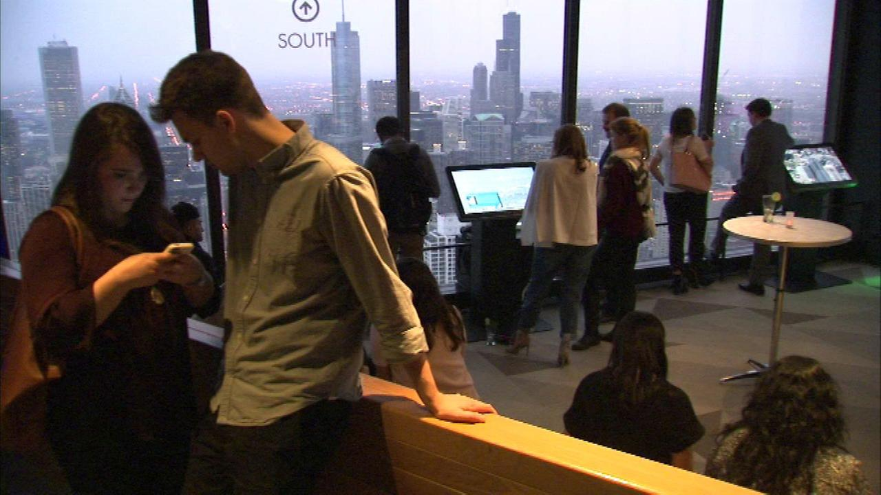 People can enjoy free events on Monday, Tuesday and Thursday evenings during the new Sunset Series on the 94th floor of the John Hancock Building.
