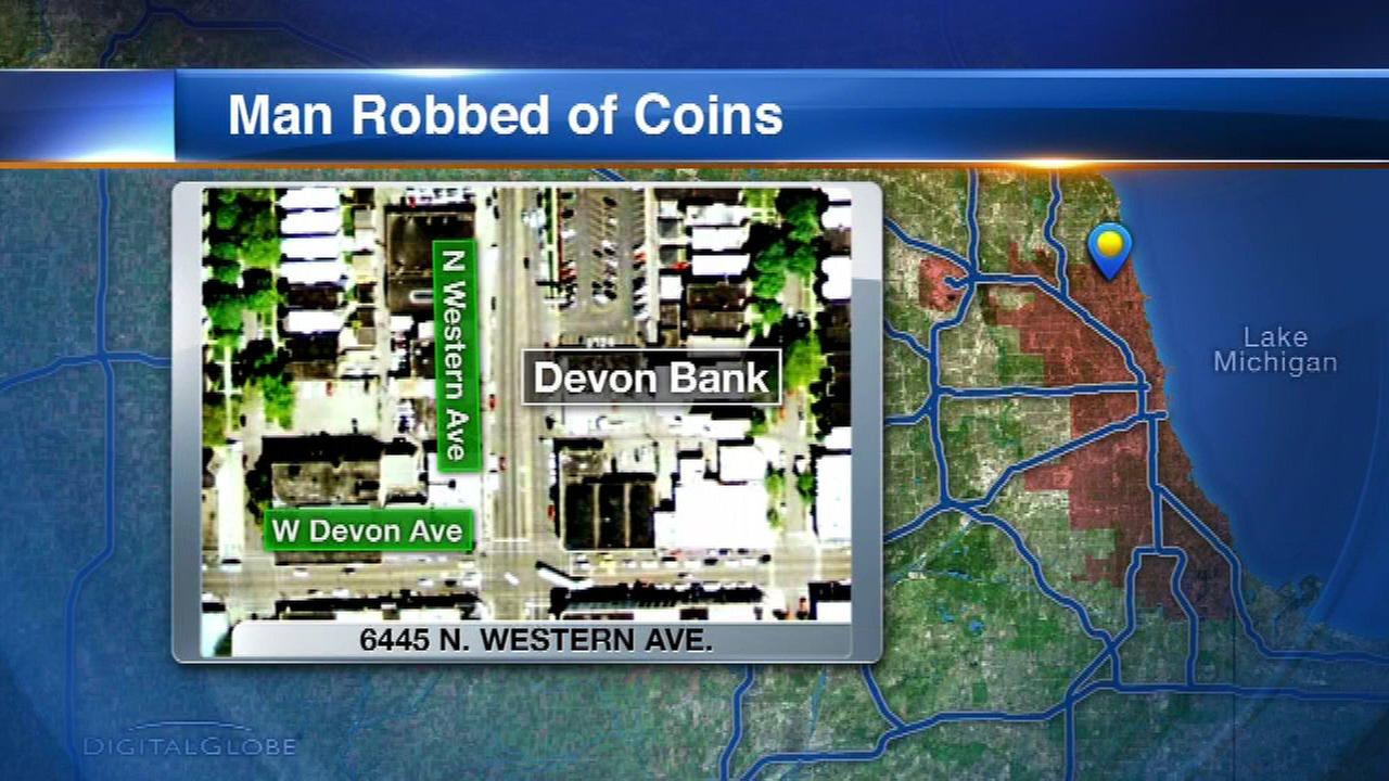 88-year-old man robbed of $120 bag of coins