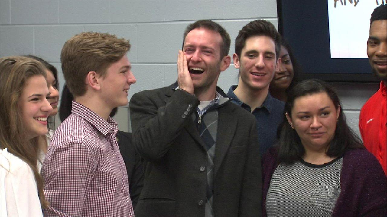 Whitney Young science teacher wins Golden Apple Award