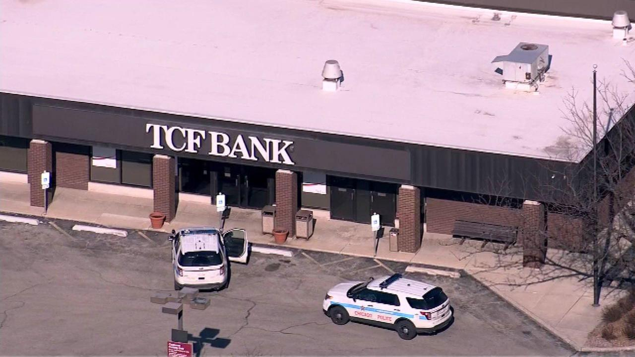 The TCF Bank at 6141 S. Archer Ave. in Chicago was robbed on April 12, 2016.