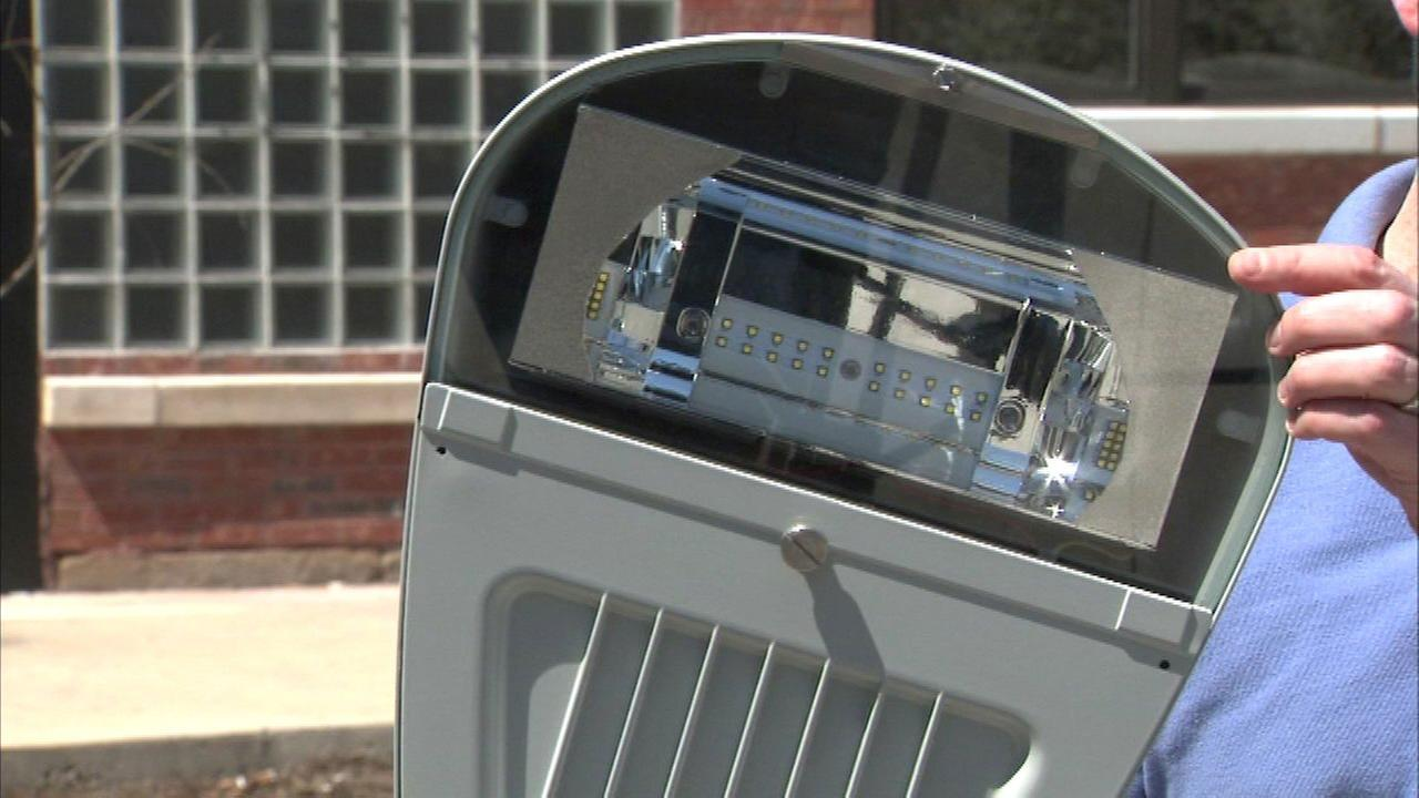 The city says the brighter lights will improve visibility and thus make streets, sidewalks and bike paths safer.