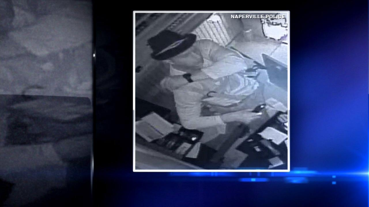 Police release photo of Naperville salon burglary suspect