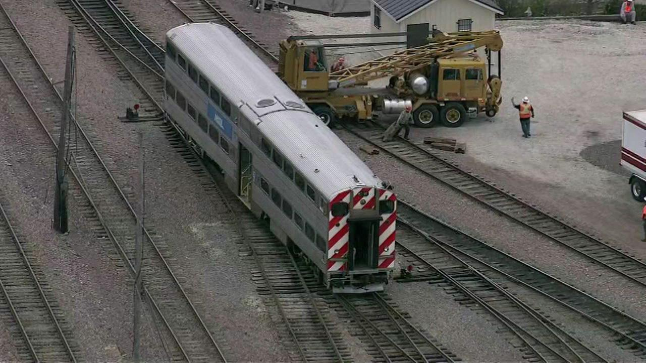 Metra trains on 3 Union Pacific lines delayed due to rail yard derailment