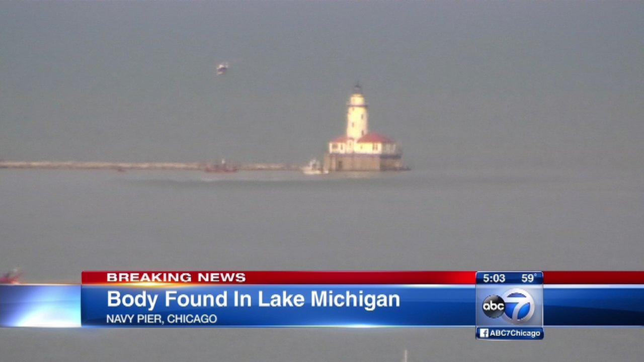 Female body found in Lake Michigan near Navy Pier