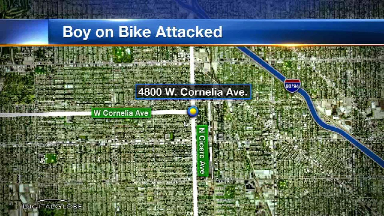 Police: Man grabbed, touched boy in Portage Park