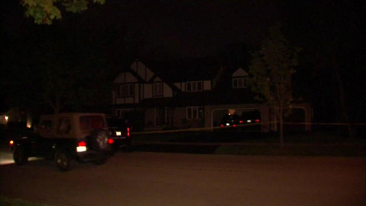 A woman was rushed to the hospital after being injured in a domestic dispute at a home in west suburban St. Charles.