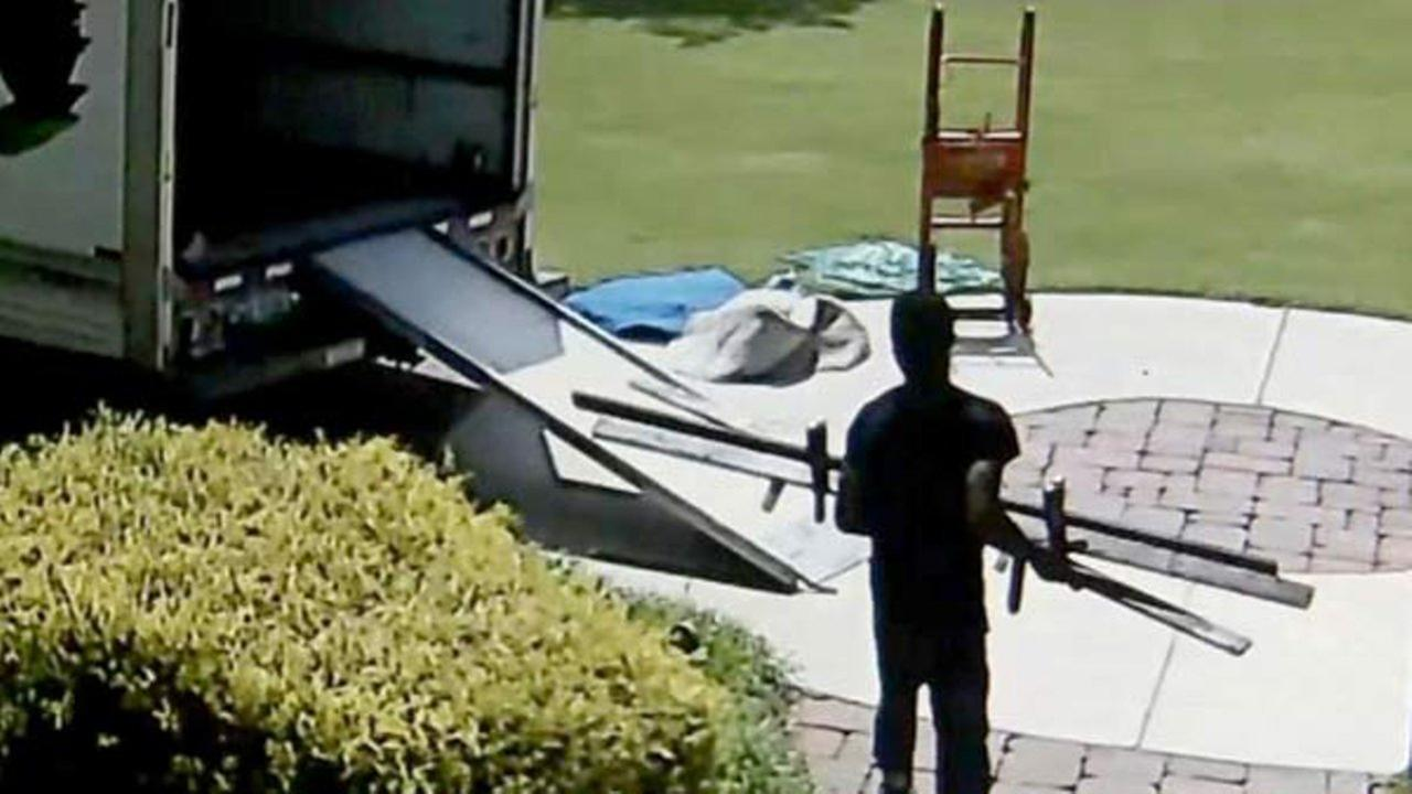 A family from Douglas County, Georgia, says that the movers they hired to ship their possessions on Friday disappeared, taking with them nearly everything they own.
