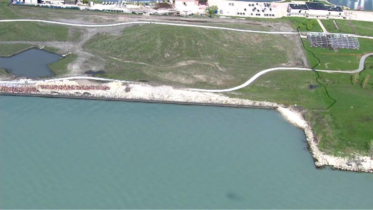Park on Northerly Island closed for erosion repairs