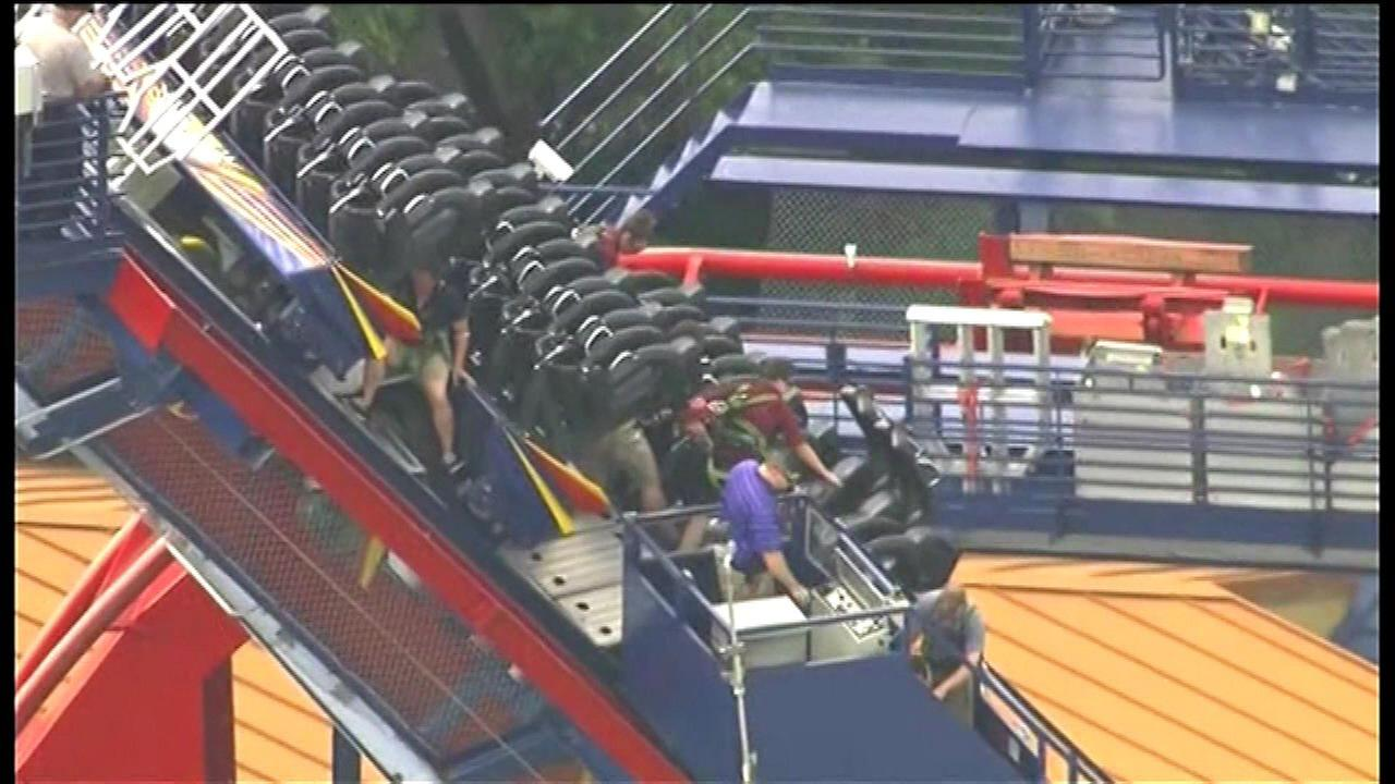 rollercoaster stuck