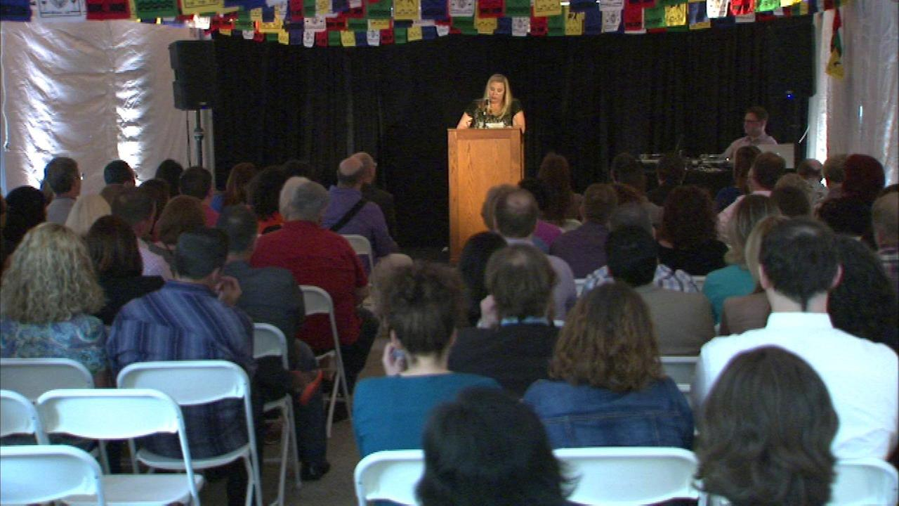A memorial event was held Saturday to remember ABC7 executive producer Anne Swaney, who was killed in January while vacationing in Belize.