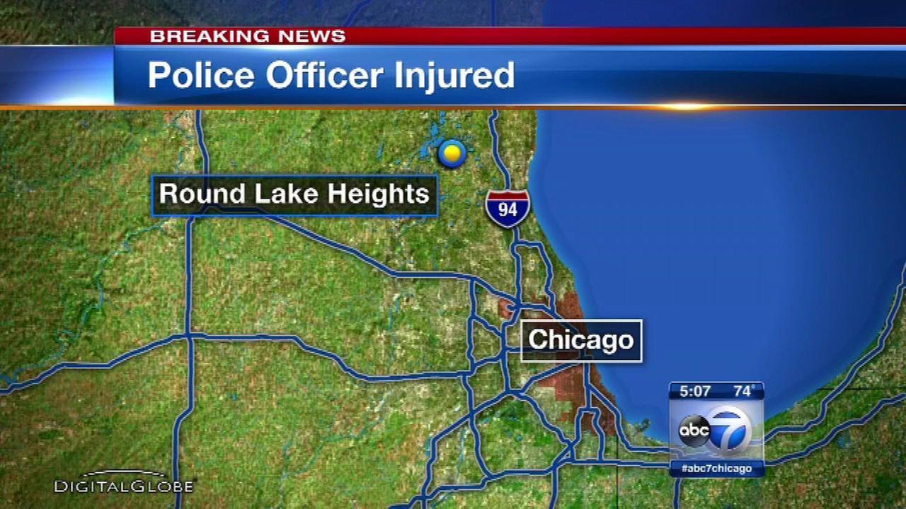 Round Lake Beach officer injured pursuing alleged Walmart shoplifter