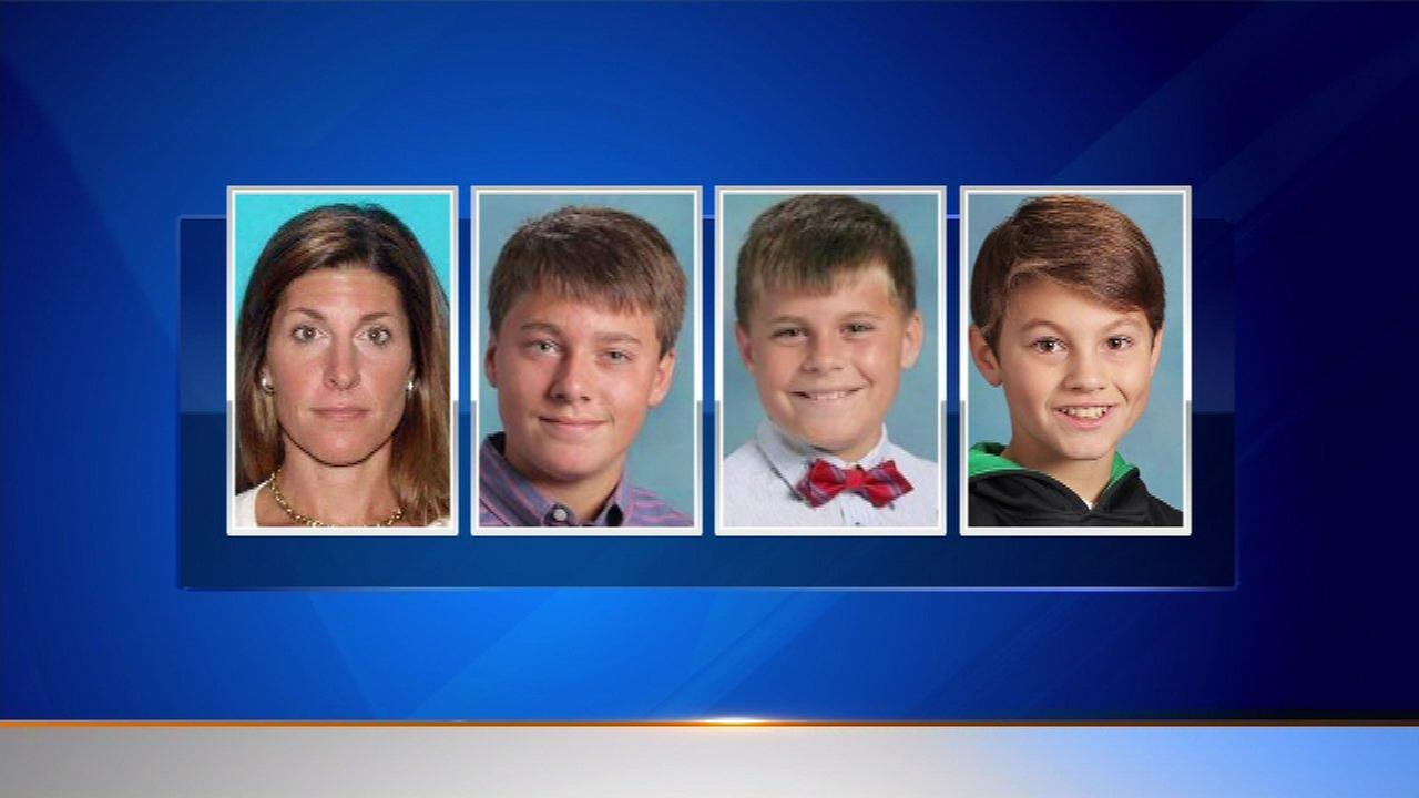 Michalene Melges and her three sons were last seen back on May 10.