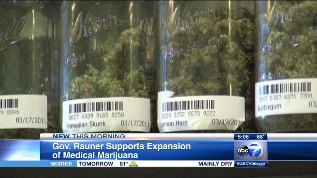 Gov. Rauner changes mind on medical marijuana