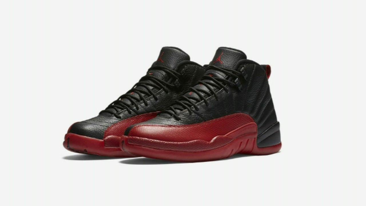 "Air Jordan 12 ""flu game"" shoes released on Saturday"