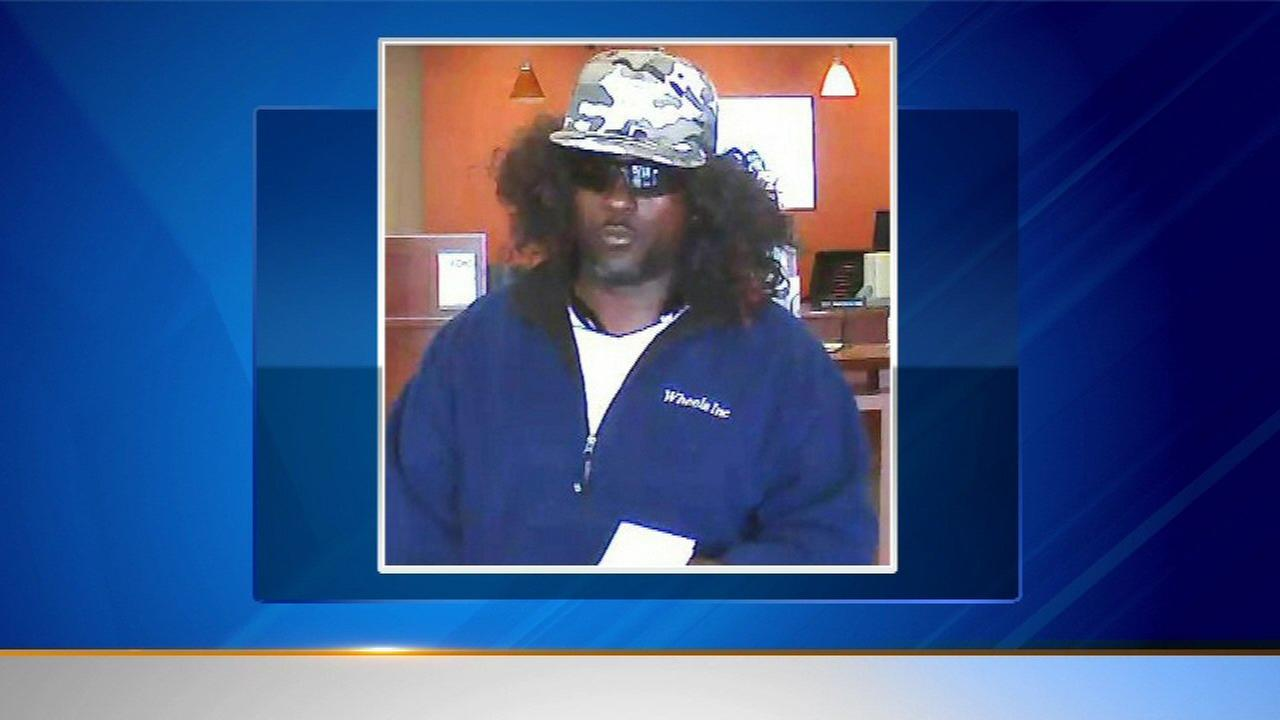 Wig-wearing robber hits 2 suburban banks in less than a week