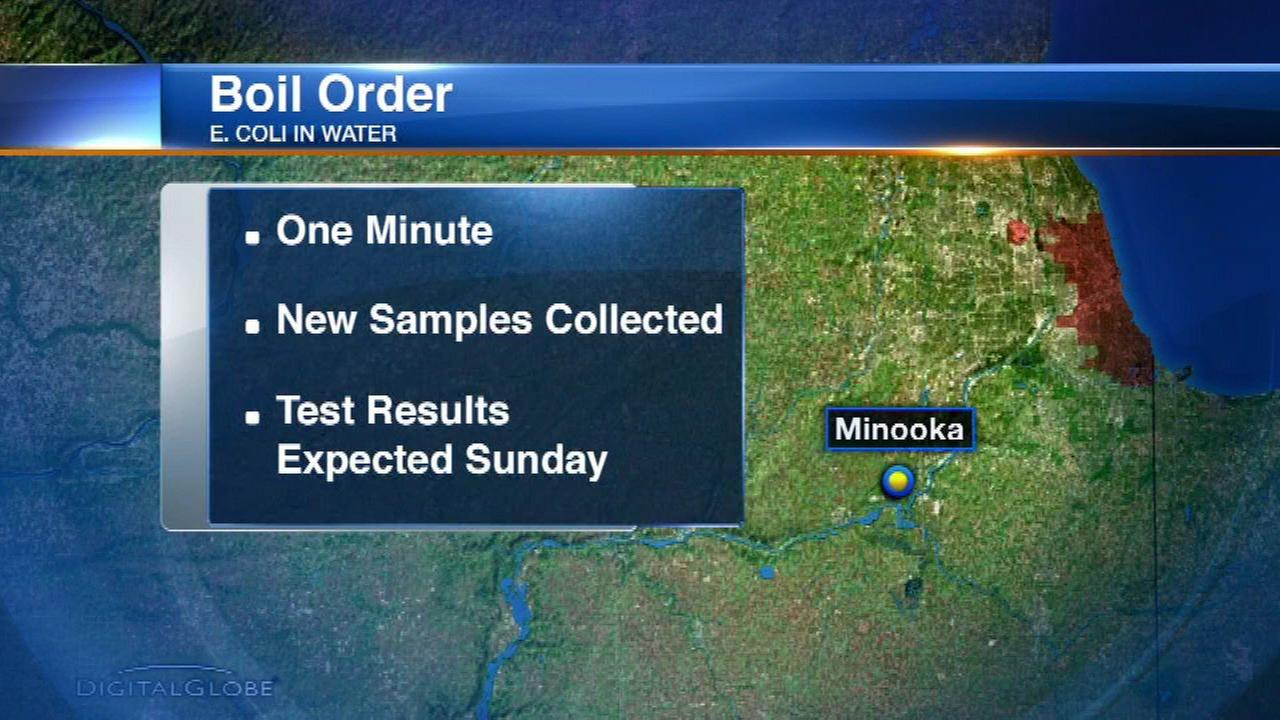 Boil order issued in Minooka after E. coli found in water supply