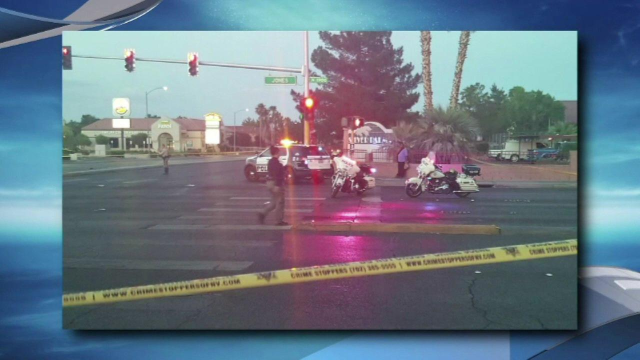 2 children critically hurt in Las Vegas crash