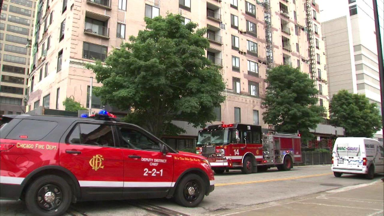 Worker injured in River North electrical accident