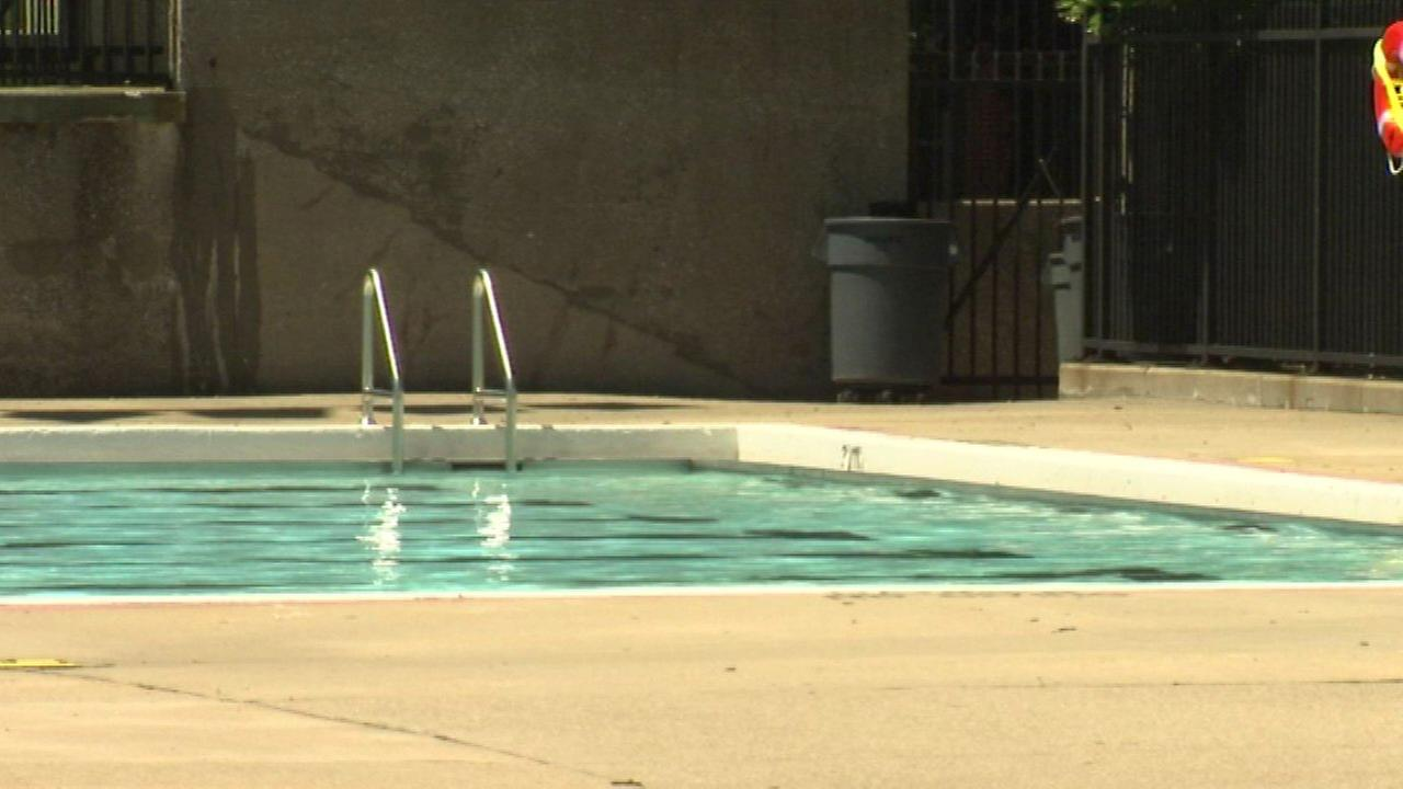 A Chicago Park District pool