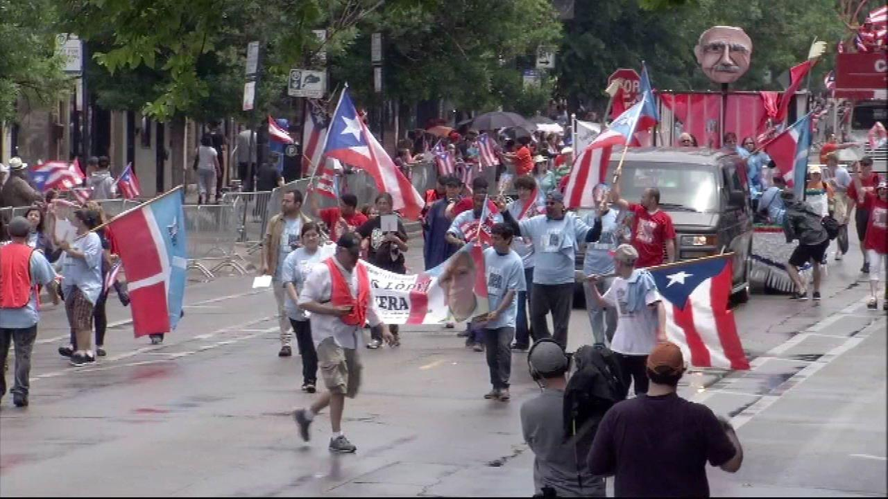 The Puerto Rican Peoples Parade.