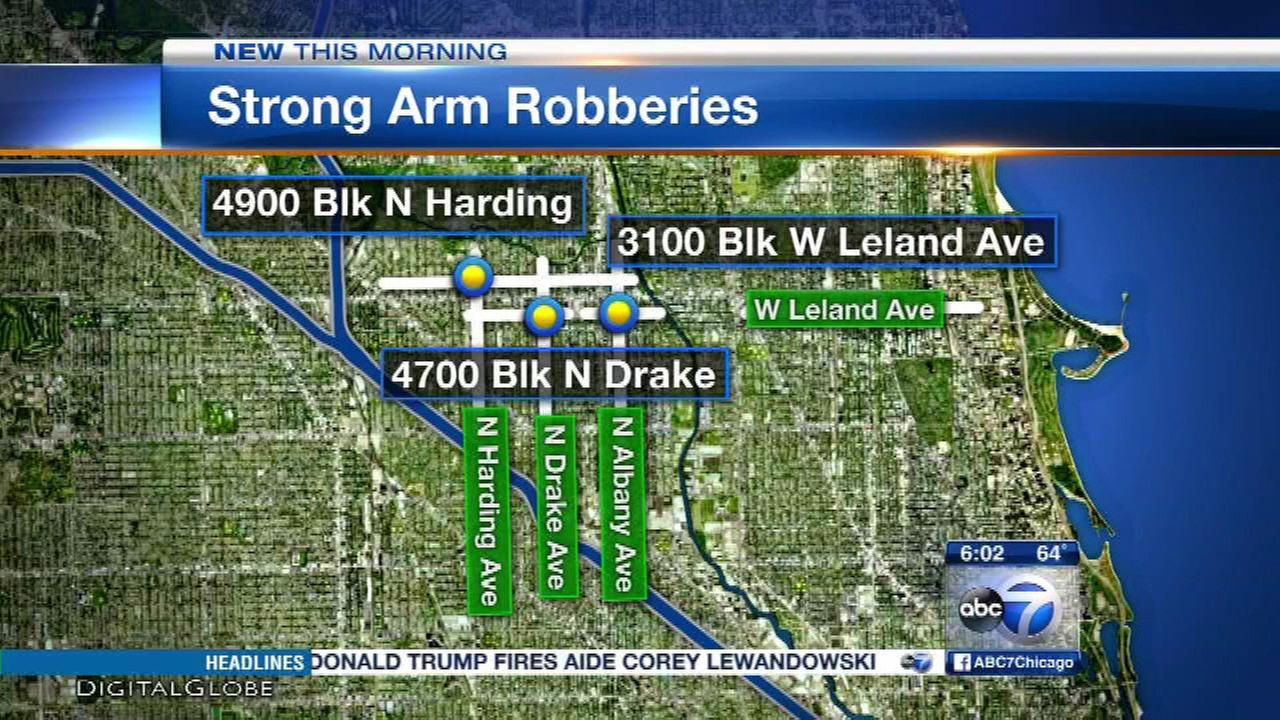Robber rips chains off victims' necks in Albany Park, police say