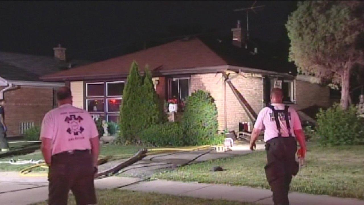 Elderly woman killed in Bellwood house fire