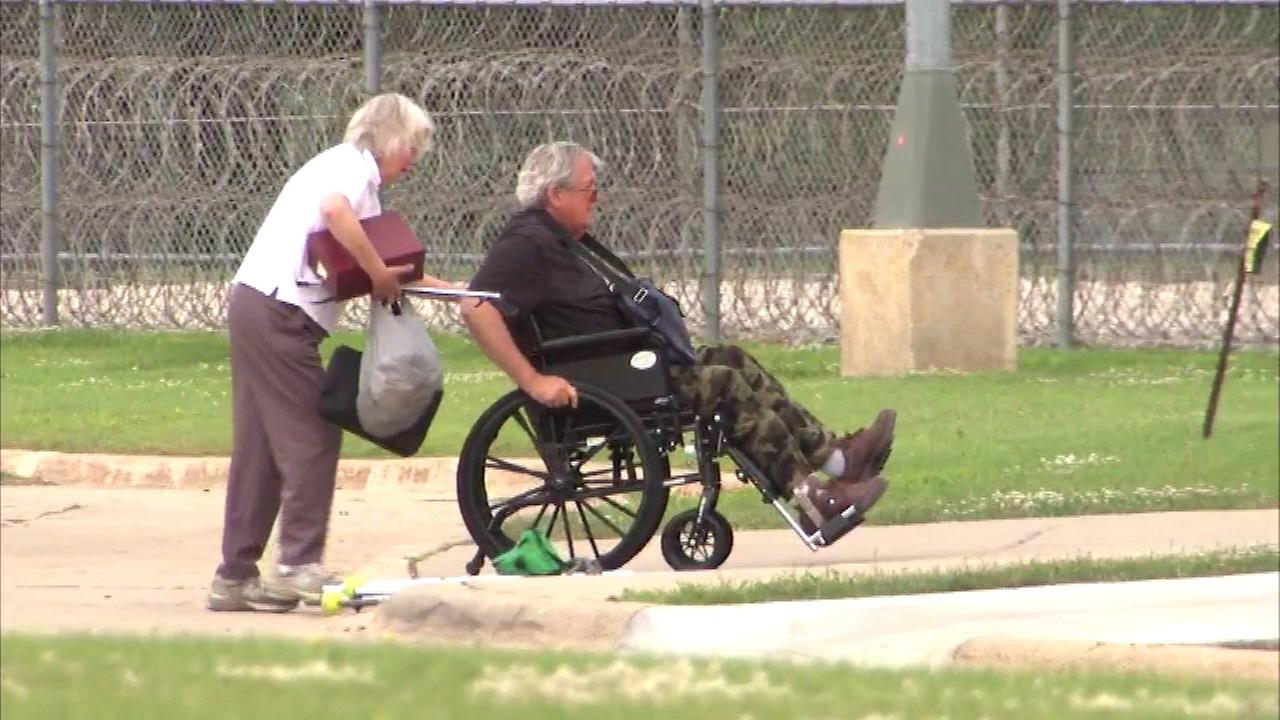 Former U.S. Speaker of the House Dennis Hastert reported to federal prison in Rochester, Minn., on June 22, 2016.