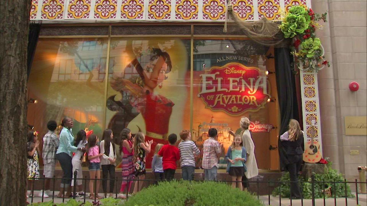 Disney's newest princess debuts on Mag Mile