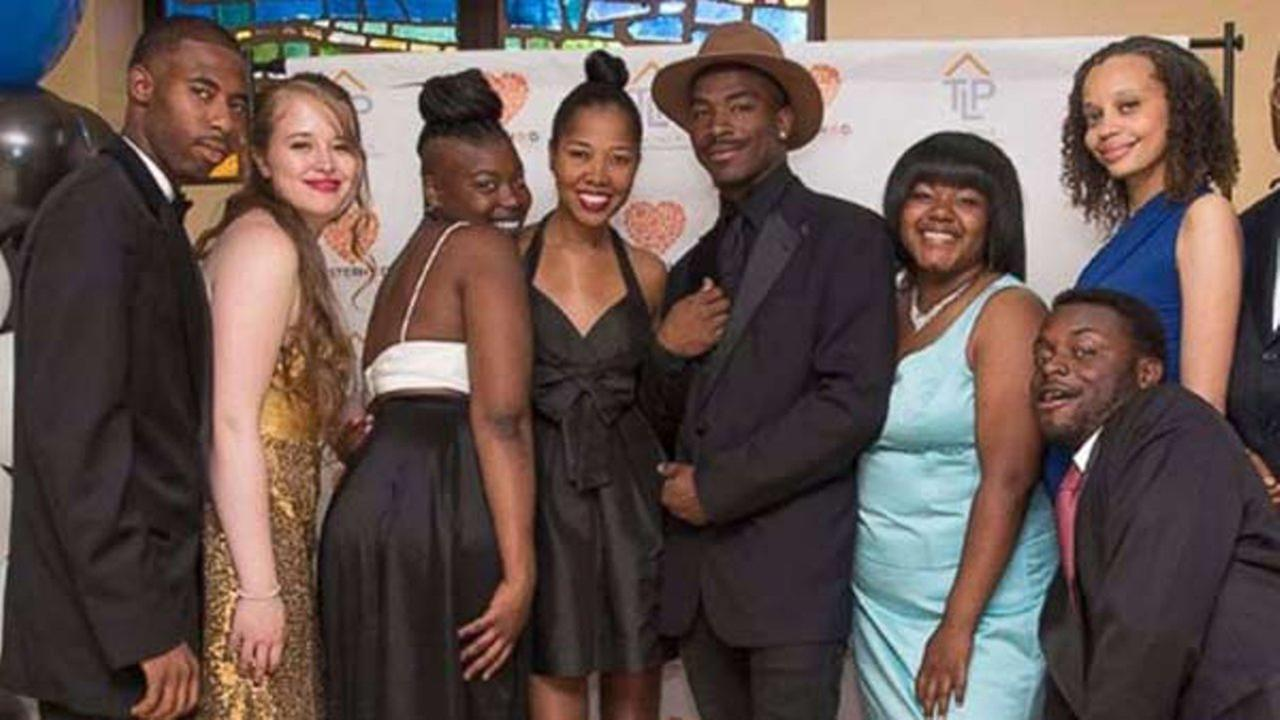 About 40 homeless students in Chicago got the chance to attend their first-ever prom Saturday night.