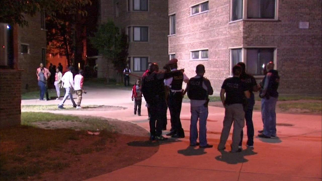 2 shot, including child, in Woodlawn