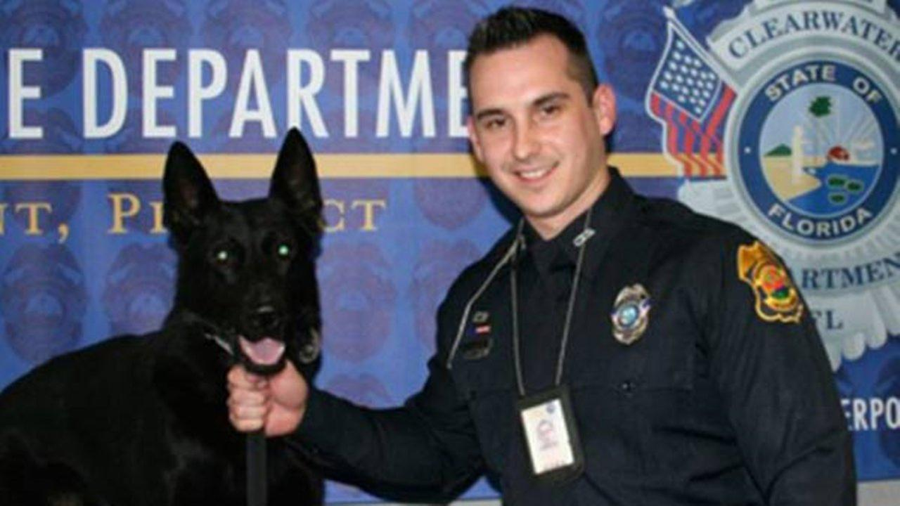 Sgt. Michael Spitaleri and his beloved K9 partner, Major.