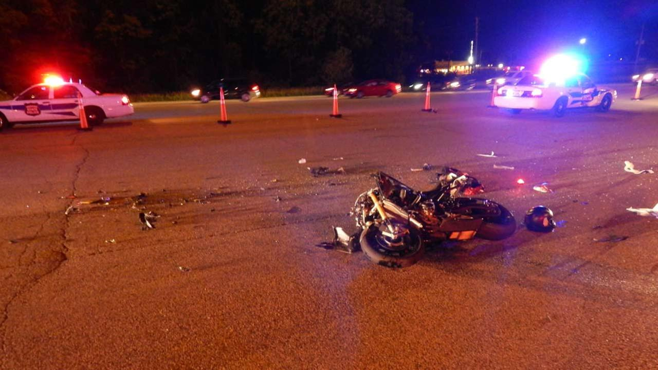 Portage motorcycle accident