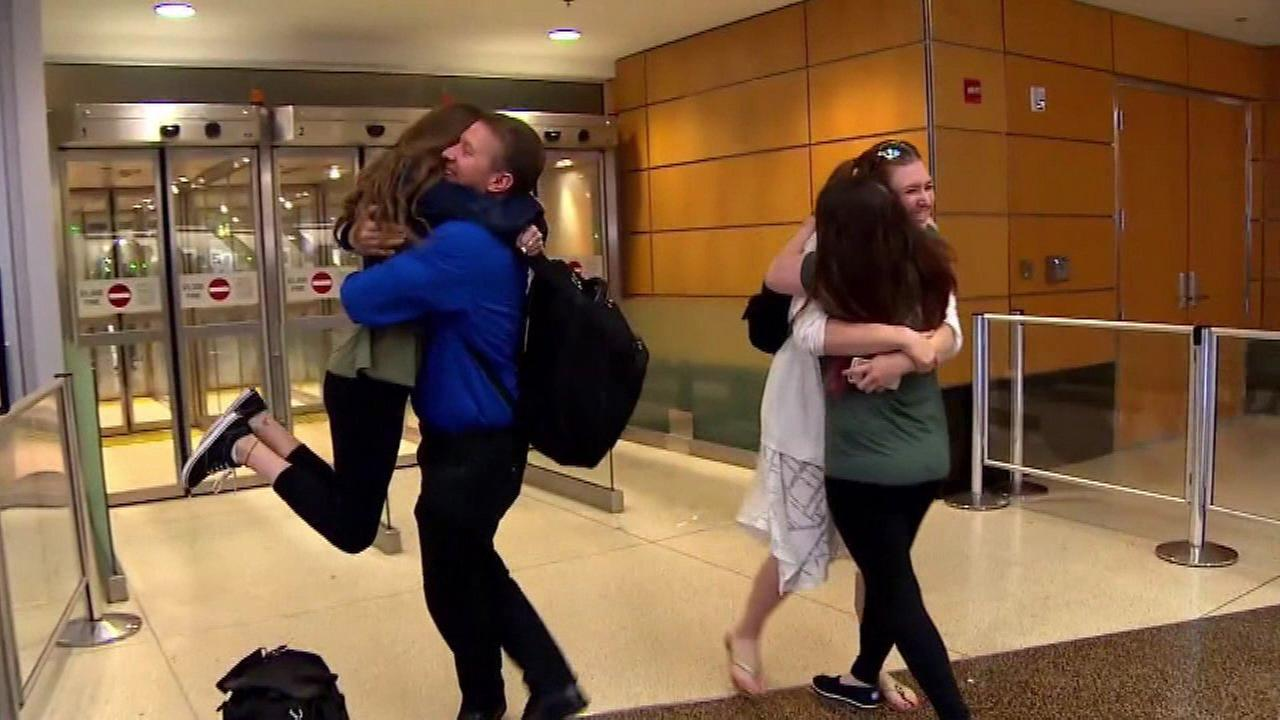Sperm donor reunites with some of children he fathered