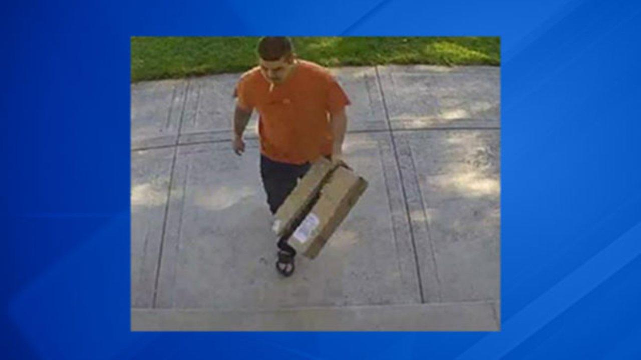Arlington Heights police are investigating thefts in which a man stole items from residents front door packages.