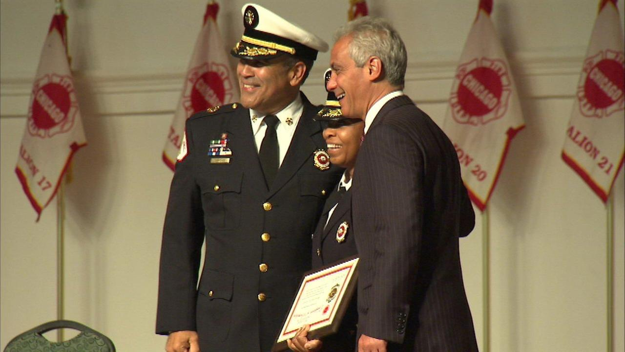 First woman promoted to CFD District Chief