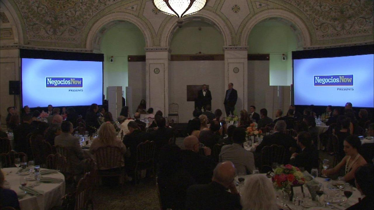 Gala honors 'who's who' in local Hispanic business