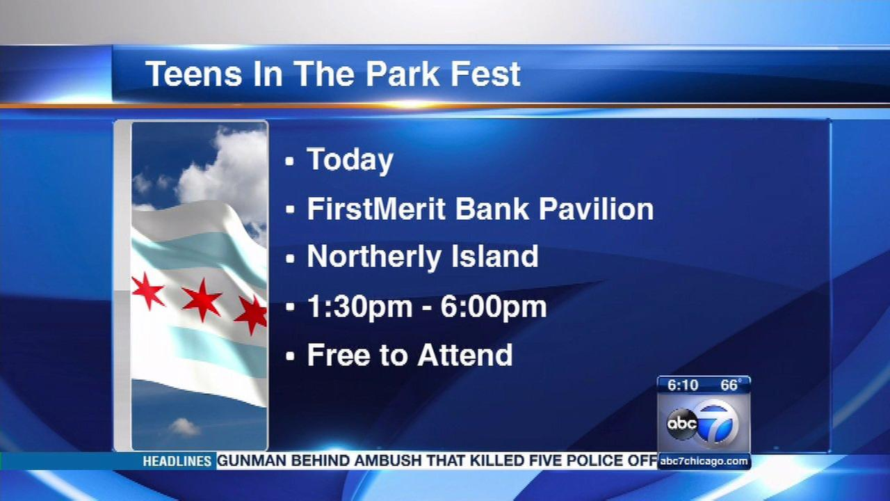 Thousands expected at Teens in the Park Festival at Northerly Island
