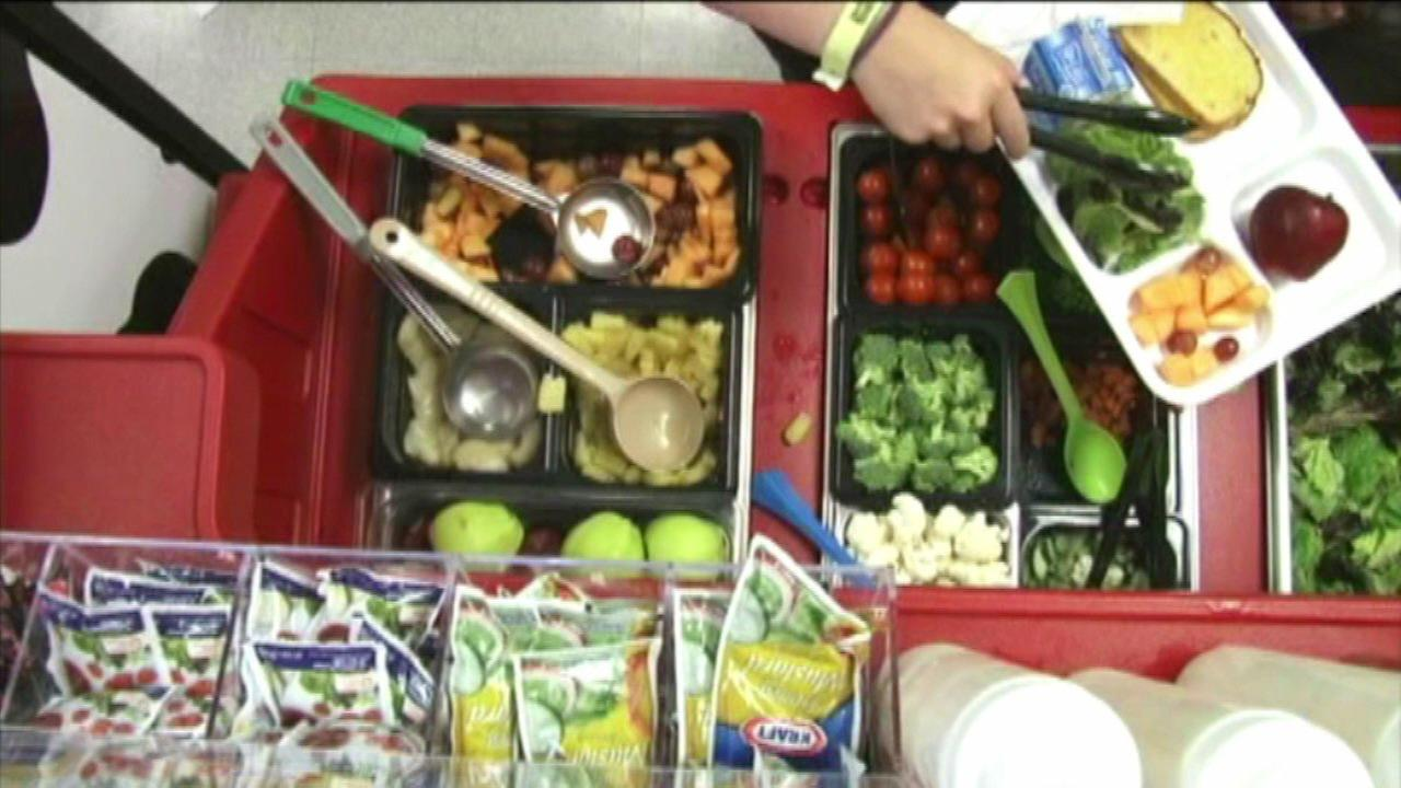 The Greater Chicago Food Depository gives away free food to needy kids during the summer.