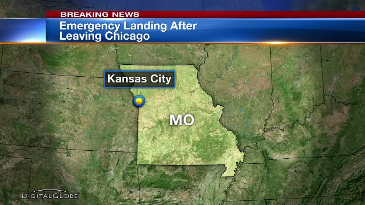 Southwest flight from Chicago makes emergency landing in Kansas City