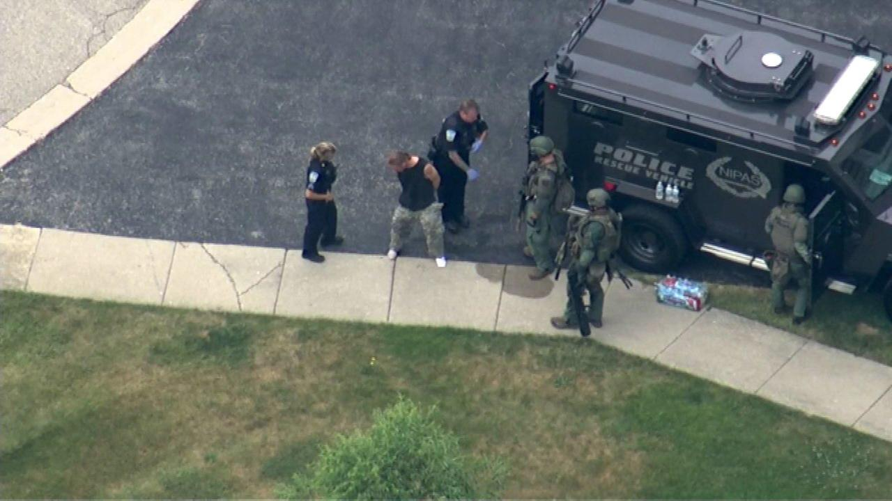 Police respond to possible barricade situation in Antioch
