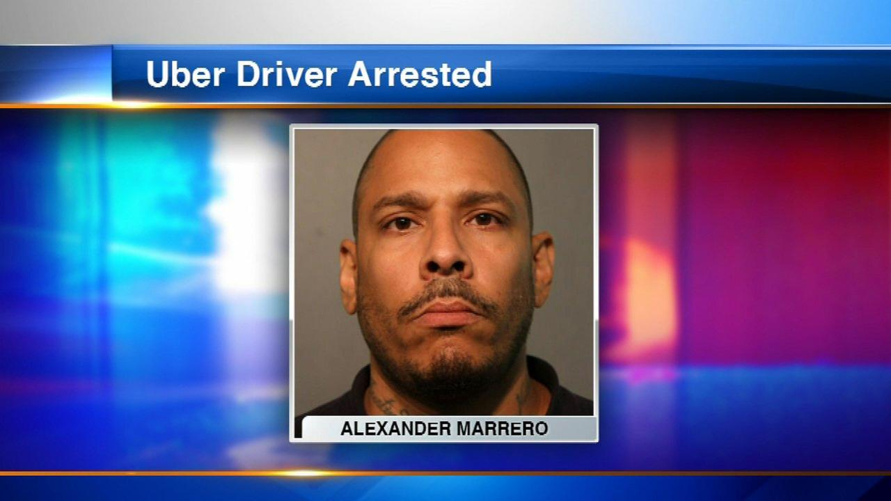 Uber driver charged with sexual assault